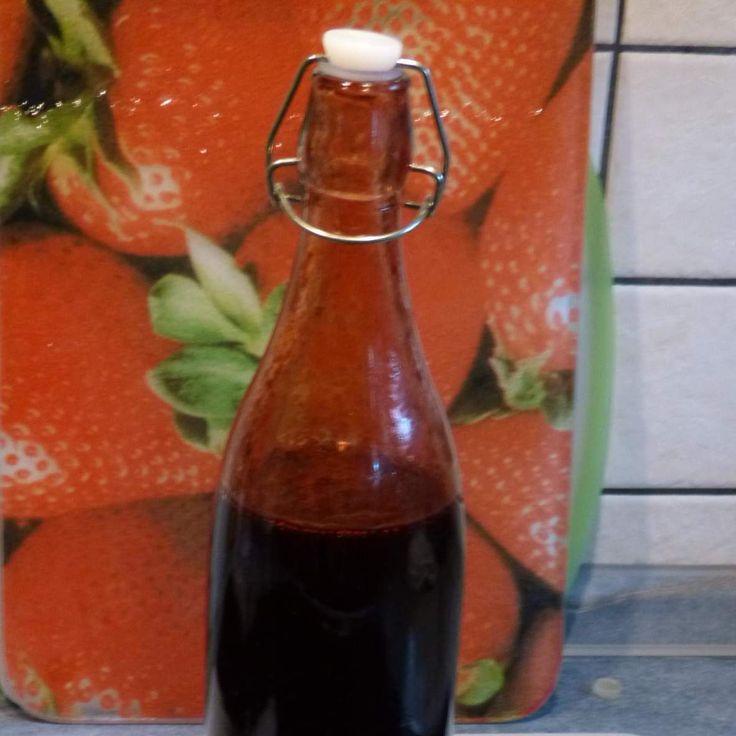 Rezept Himbeer-Balsamico-Essig von bluemchen84 - Rezept der Kategorie Saucen/Dips/Brotaufstriche