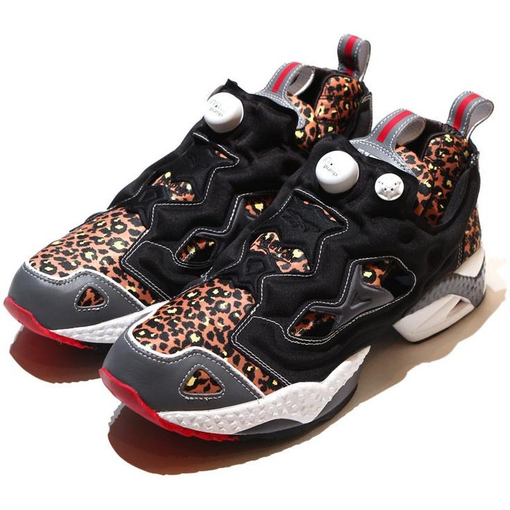 """Reebok Pump Fury x mita sneakers """"Leopard"""""""