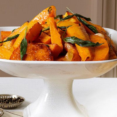 Roasted Garlic Squash with Crispy Sage Brown Butter | Recipe