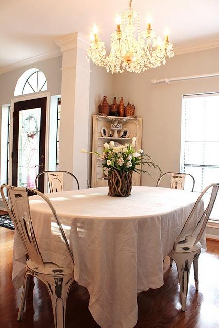 Temporary Dining Room Set Up Kitchens Pinterest