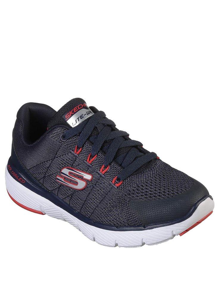 Skechers Flex Appeal 3.0 Go Forward Trainer, Navy, The