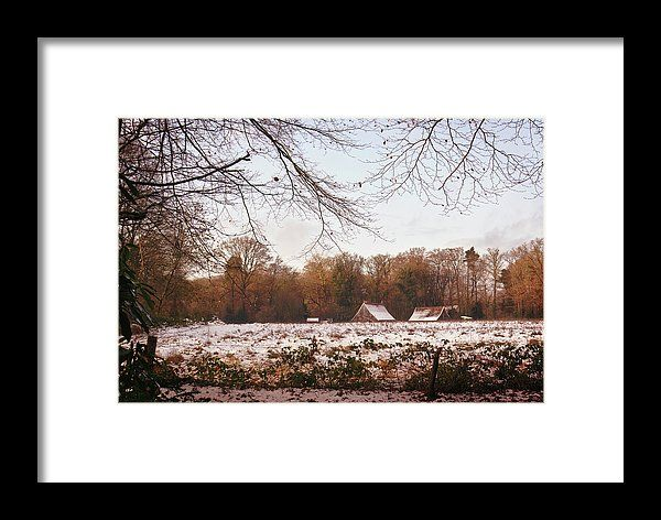 Early winter, landscape photo as wall art #netherland #Enschede #landscape #photo #photography #gerhardhoogterp #wallart