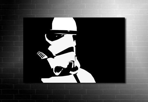 Darth Vader Canvas Art Star Wars Bedroom Pinterest