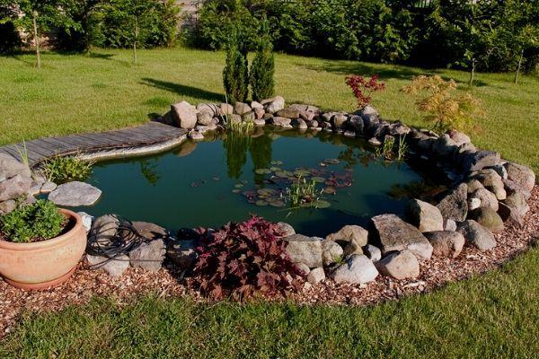 7 Pond Edging Ideas Water Garden Advice Ponds Backyard Pond Landscaping Garden Pond Design