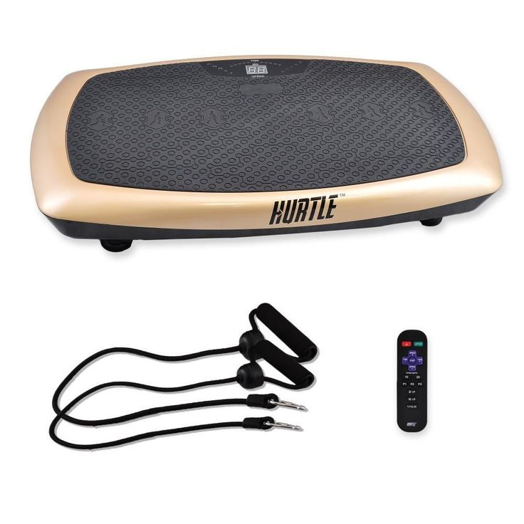 Hurtle HURVBTR60 Standing Vibration Fitness Machine, Vibrating Platform Exercise and Workout Trainer http://amzn.to/2qG9FlD