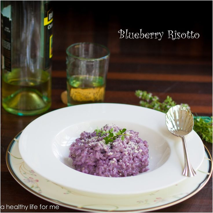 Blueberry Risotto Recipe at www.ahealthylifeforme.com