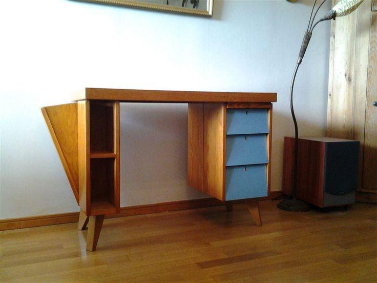 skrivbord retro på Tradera.com - Antika möbler | Antikviteter | Antikt &