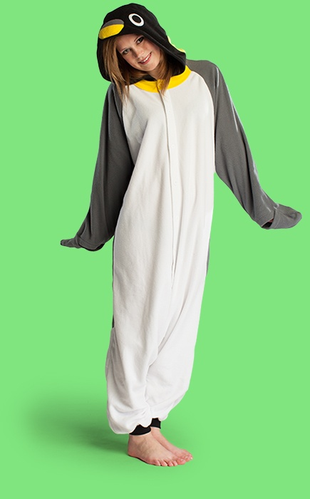how to make a penguin onesie
