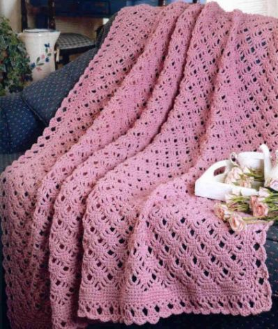 Crochet Pattern Afghan Blanket