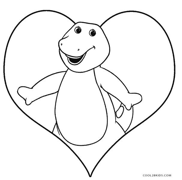 Free Printable Barney Coloring Pages For Kids Cool2bkids Mermaid Coloring Pages Dinosaur Coloring Pages Hello Kitty Colouring Pages