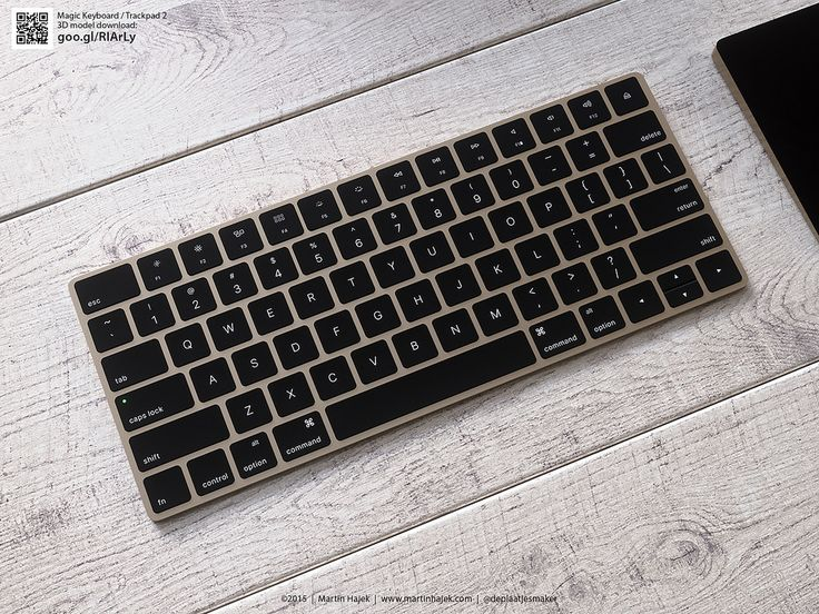 So why did this not happen, Apple?  Visuals of a gold Magic Keyboard & Magic Trackpad using my new 3D models. Download the 3D model of the keyboard & trackpad here: http://goo.gl/RIArLy
