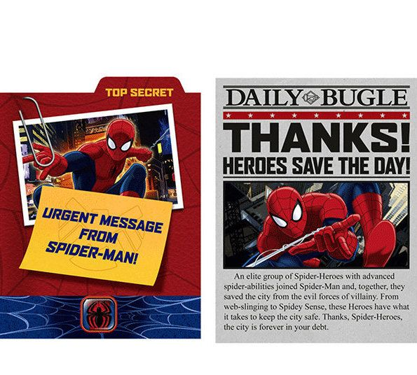 Ultimate Spider-Man ''Spider Hero'' Invitations w/ Envelopes and Thank You Notes  (8ct each) by ElsaPartySupply on Etsy