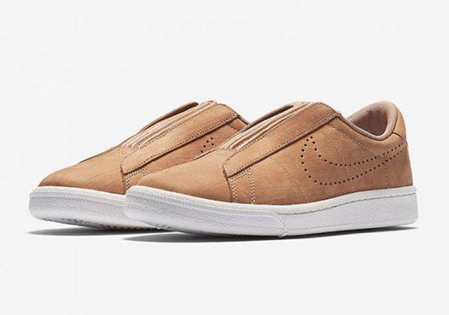 http://SneakersCartel.com Check Out the Nike Tennis Classic Ease Slip-On #sneakers #shoes #kicks #jordan #lebron #nba #nike #adidas #reebok #airjordan #sneakerhead #fashion #sneakerscartel