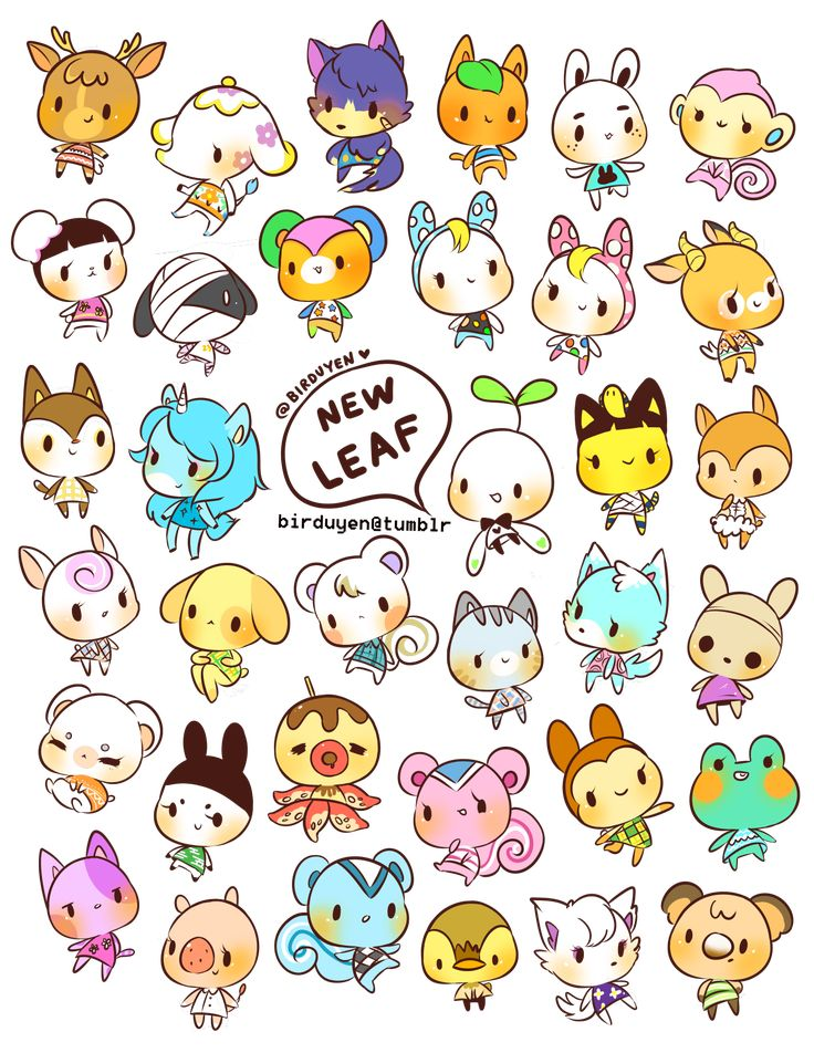 birduyen:animal crossing: new leaf stickers~!