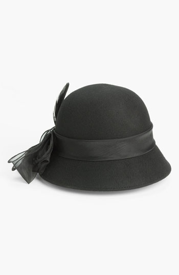 August Hat 'Helene' Cloche available at #Nordstrom