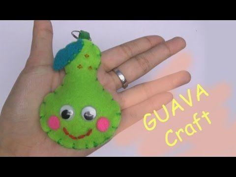 Craft For Kids Craft Fruit Guava Craft Easy Craft Handmade Nursery Rhymes
