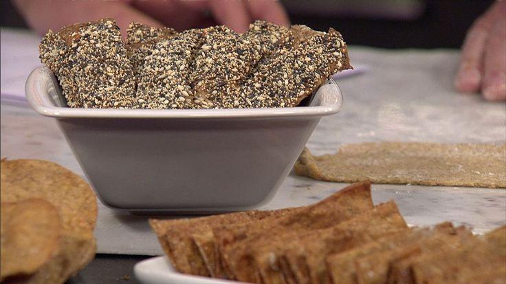 Gör ditt eget knäckebröd med en god smakkombination av fikon och anis.