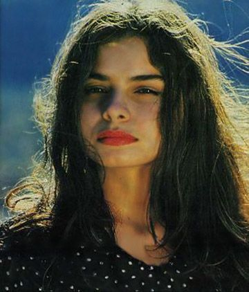 Hope Sandoval of Mazzy Star via thedopedoll