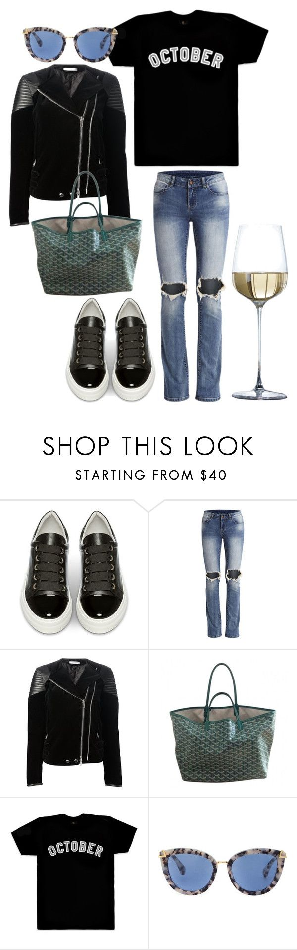 """""""Untitled #230"""" by fashiondisguise on Polyvore featuring Billi Bi, Givenchy and October's Very Own"""