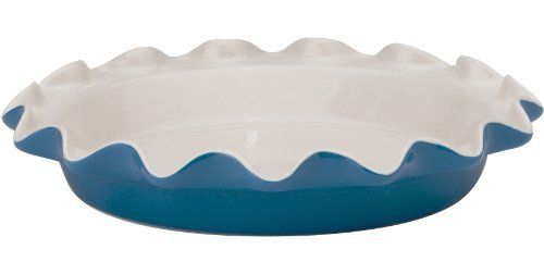 HIC Ceramic Rose's Perfect Pie Plate, Bayberry: 14.95 What a beautiful fluted edge