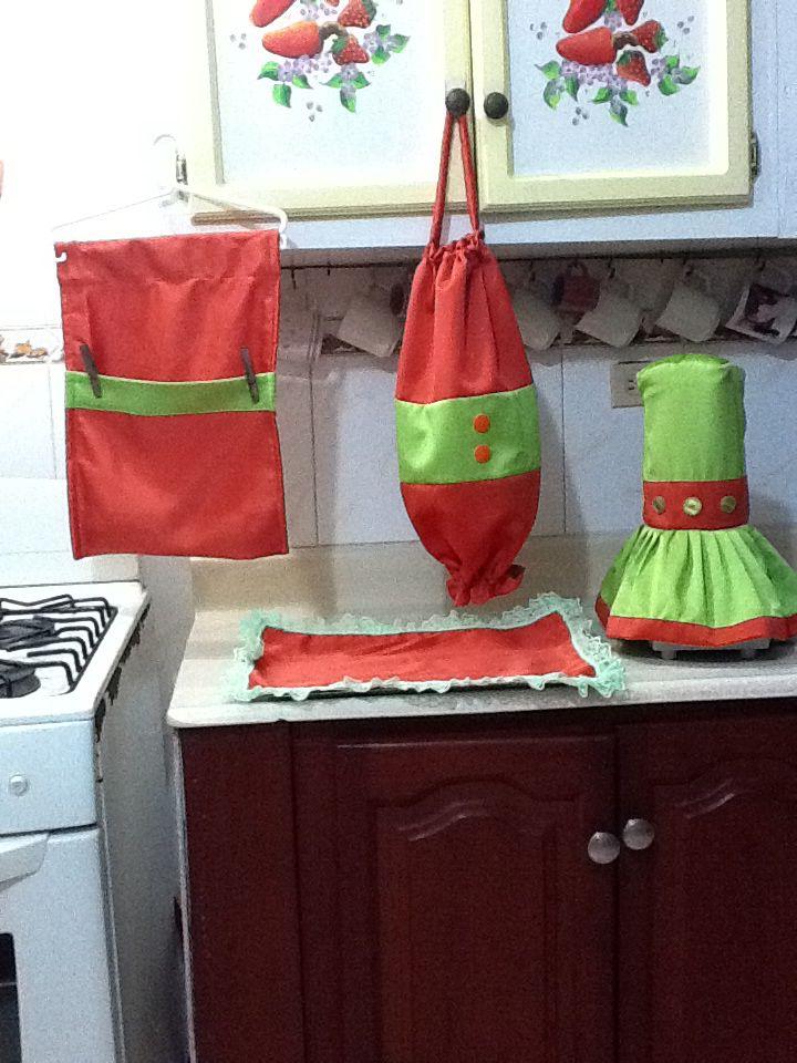 17 mejores im genes sobre lenceria de cocina en pinterest for Enseres para cocina
