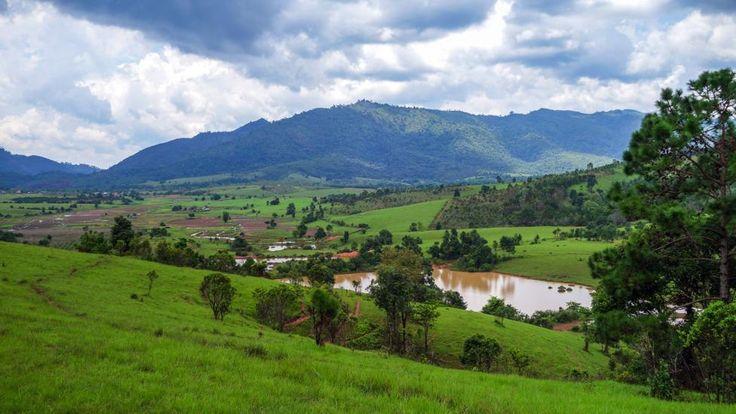 Approaching the Plain of Jars, Laos, Iron Age (Credit: Credit: Jarryd Salem)