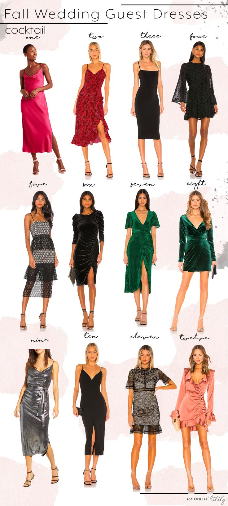 What To Wear To A Fall Wedding   Somewhere, Lately   October ...