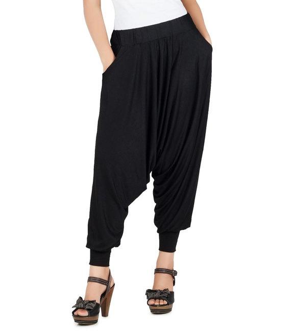 WOW!!!! Harem Pant  High Quality Fabric by LightFashionUK on Etsy, £29.99