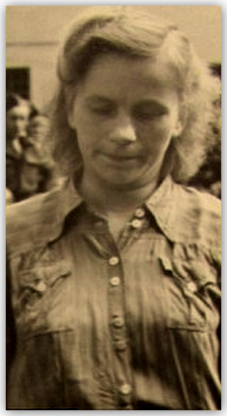 Elizabeth Volkenrath was an SS supervisor at several concentration camps during World War II.Brutal and cruel she eventually stood trial with Irma Grese and many other Nazi guards at the Belsen Trial. She was handed down a death sentence and was hanged on December 13, 1945, at Hameln by Albert Pierrepoint.