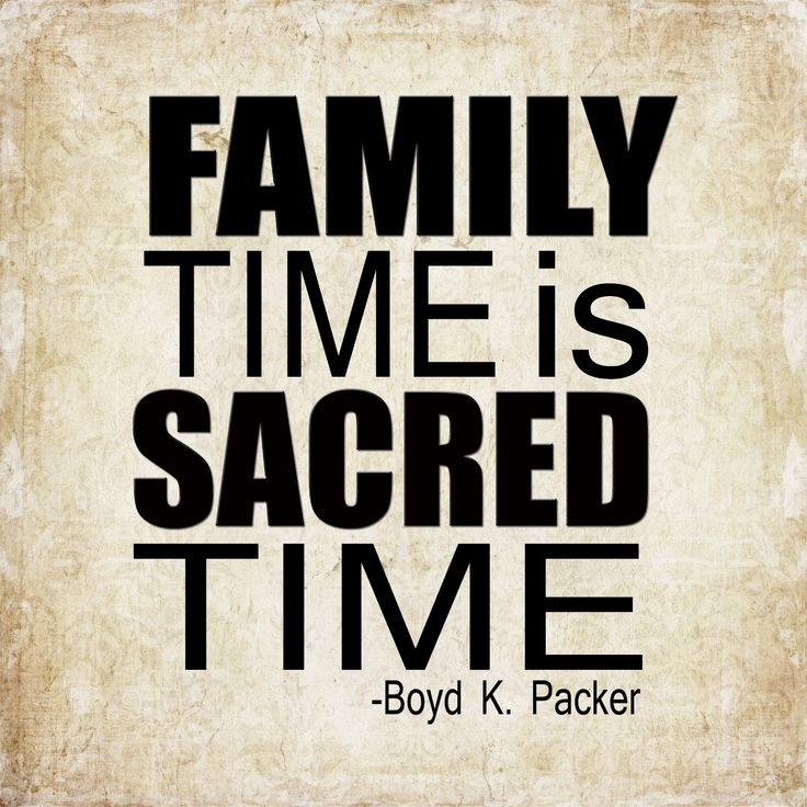 making time each week more than once for just family time me brian and my kids to reinstall our bond n show my kids what being part of a loving family is all about there memories no one can take away from you not even death