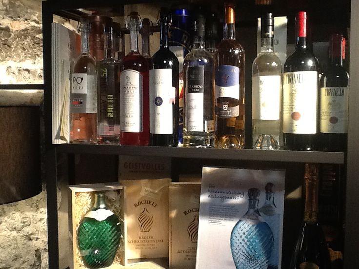 Edeldestillate im Männerladen_von Grappa bis Gin und edelste Fruchtbrände.