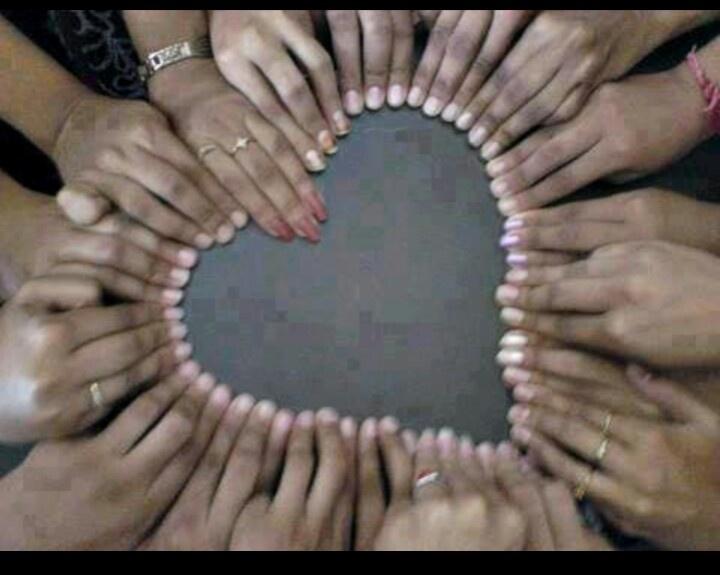 Heart and Hands, teacher appriciation, voor juf meester met kinderhandjes