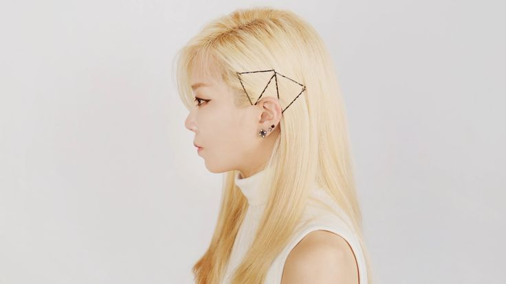 Bobby pin hairstyles - 실핀을 이용한 포인트 헤어스타일