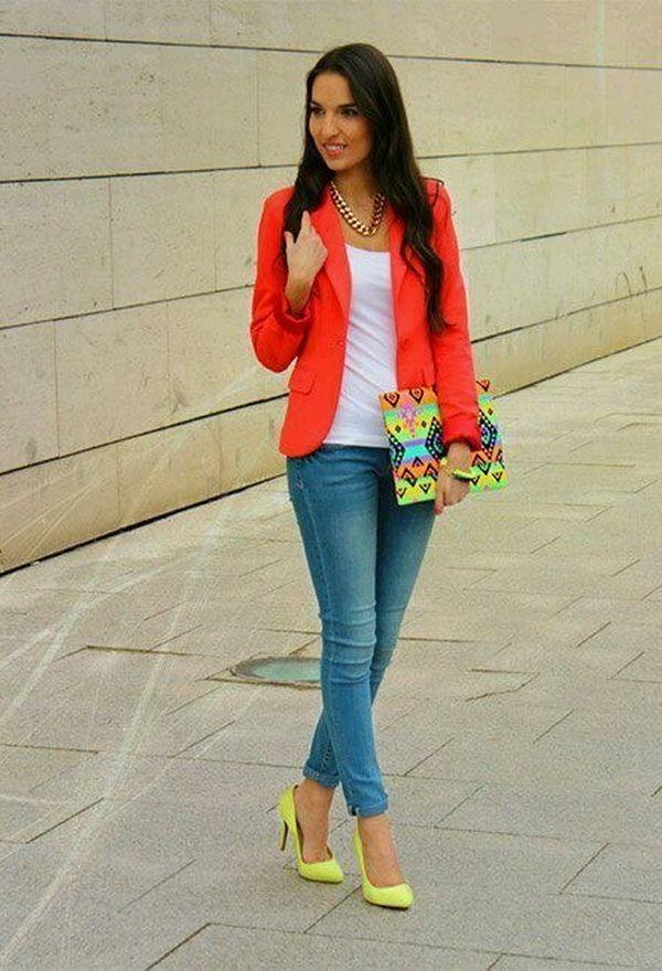 Asombrosos zapatos casuales de moda color amarillo | Zapatos 2016