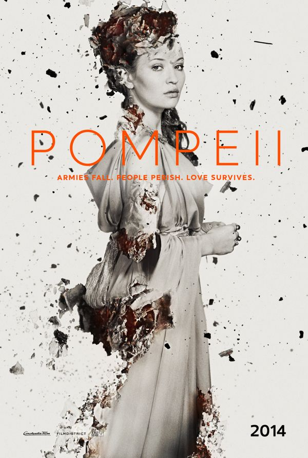Pompeii (2014) - Emily Browning as Cassia #CostumeDesign: Wendy Partridge