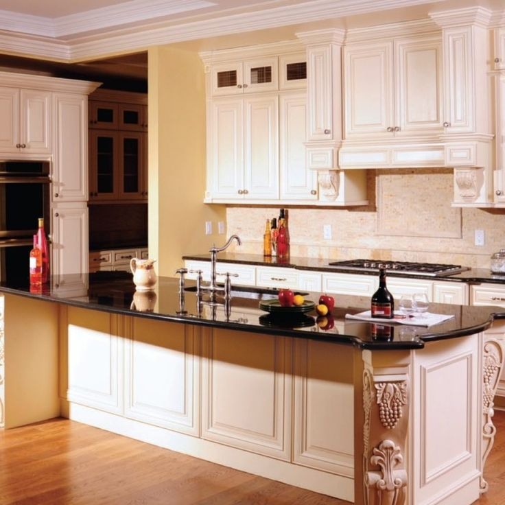 Cream Color Kitchen Cabinets With Glaze