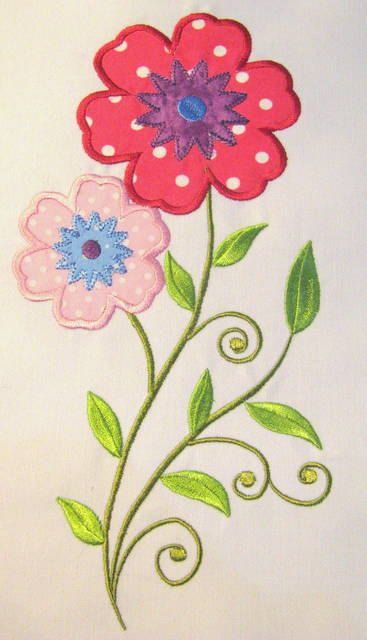 Top ideas about flowers machine embroidery designs on