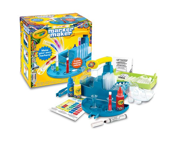 Crayola Marker Maker - let the kids create their own colours
