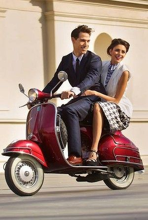 Hire a vespa and take in the sights in italy #lifeinahandbag #lkbennett