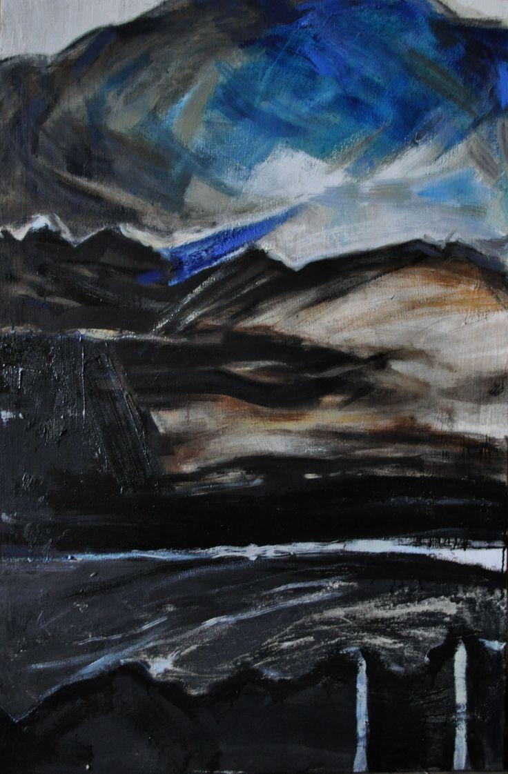 Bez Tytułu 3, Paulina Kowalczyk, olej, 70 x 50, 2013