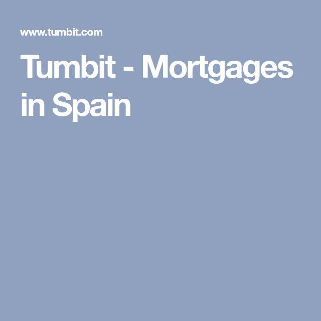 Tumbit - Mortgages in Spain