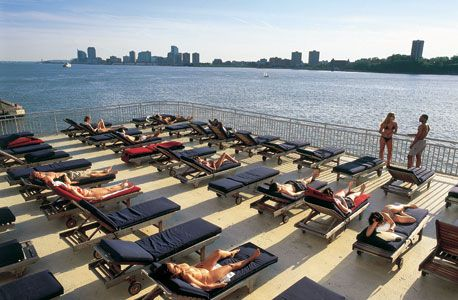 Chelsea Piers Sundecks - The Sports Center at Chelsea Piers