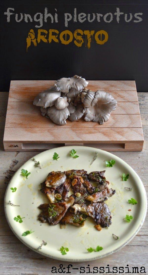Cucina del Lazio: funghi pleurotus arrosto