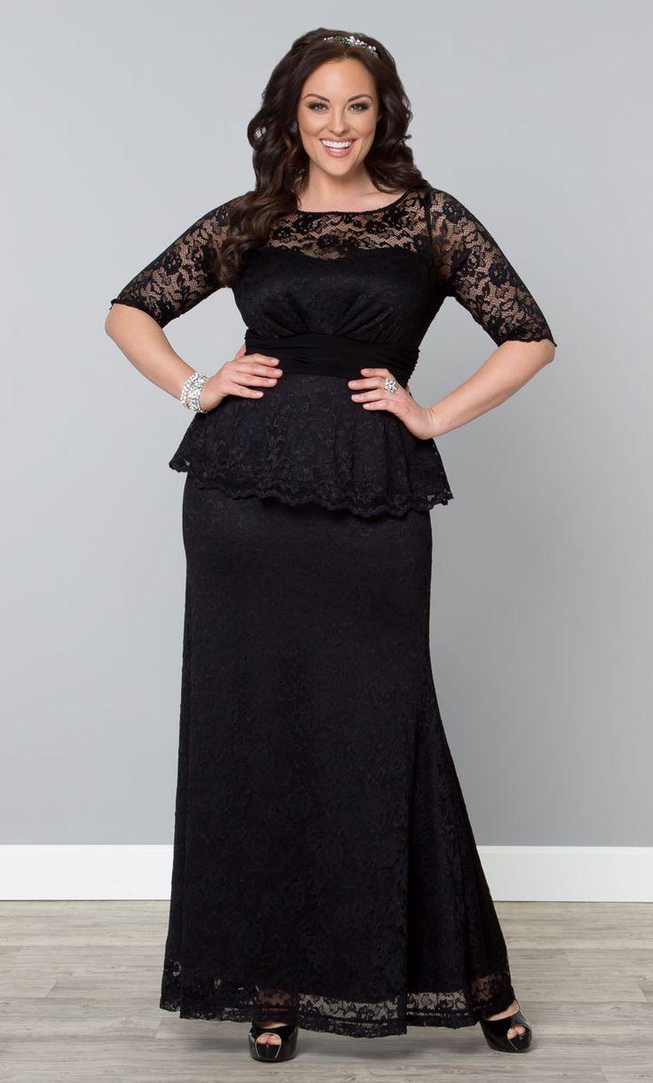 long black plus size dress choice image - dresses design ideas