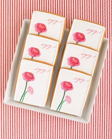 Templates for floral clip art for edible images