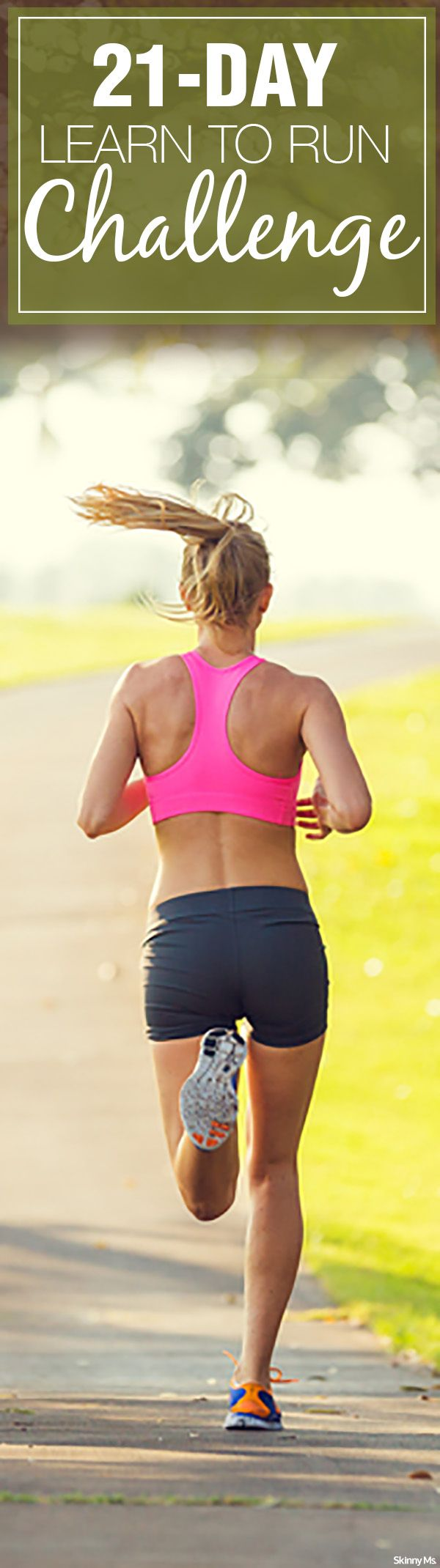 Good for Beginners: 21-Day Learn to Run Challenge #runningchallenge #running #runtips
