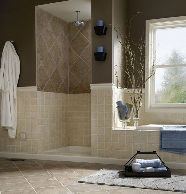 Add Style to a Bathroom with Tile Patterns - Lowe's Creative Ideas