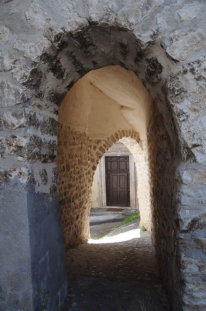 Church of Santa Maria Assunta, Colforcella-Cascia, Perugia, Umbria_ Italy