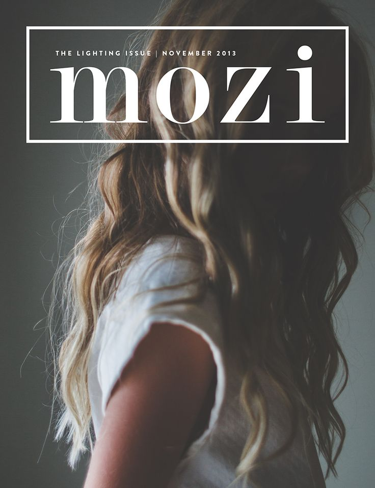 Summer Murdock Photograpy Mozi Magazine Cover-The Lighting Issue