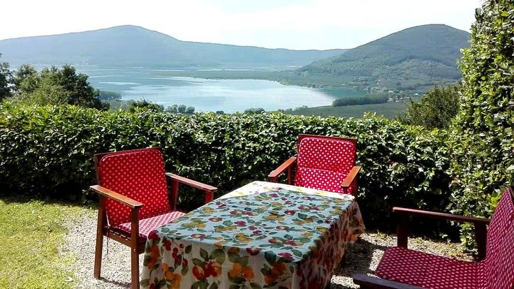 "The table for ""al fresco"" diner , at 650 m asl,"